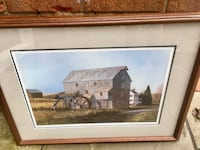 "West Virginia Artist Robert Tuckwiller's ""Wades Mill"" framed and signed print (333/500) Leesburg, 20175"