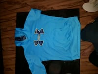 blue and black crew-neck t-shirt St. Albert, T8N 2C5