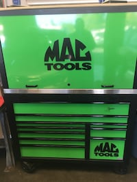 Black and green metal tool chest Oxnard, 93036