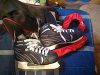 WinnWell ice skates. Size Sr.10 with carrying bag. Toronto, M6G 2M4