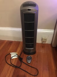 Lasko 755320 Ceramic Electronic Space Heater with remote control