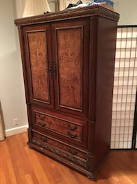 Exquisite Wooden Wardrobe - Great for Clothes and TV Woodbine, 21797