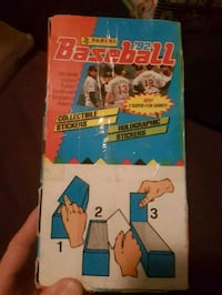 100 packs of baseball stickers 1992