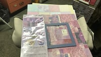 All in one scrapbook kit with stickers 12x12 papers and album Montréal, H1R 2N7