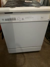 white Whirlpool dishwasher Ontario, L8E 1W4