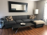 Dark Grey Sectional Couch  Westerville, 43082