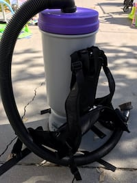 Cleaning service Commercial grade backpak vacuum Los Angeles, 91303