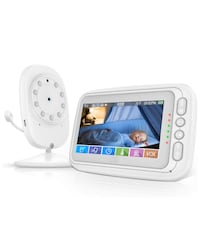 4.3'' Video Baby Monitor with Camera and Audio, 1000ft Range, VOX Mode