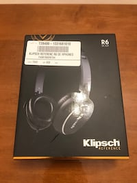 Brand new in box Klipsch Reference R6 On-Ear Headphones  Langley, V1M 3Z1