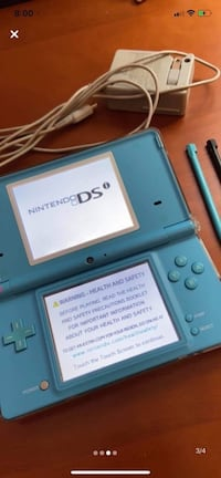 DSI blue with charger. Won't last long! Mississauga, L5B 4A3