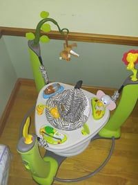 baby's green and white jumperoo Lowell, 01851