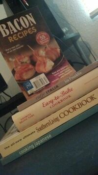 5 Cooking Recipes Books