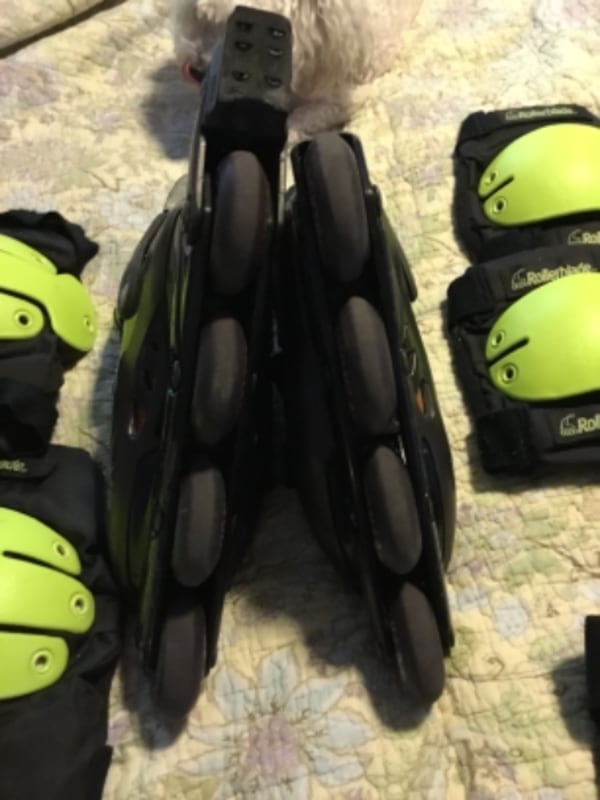 Womens' Size 8 Roller Blades-Gently Used bb38b79d-b6f6-4211-9560-6d083668414e