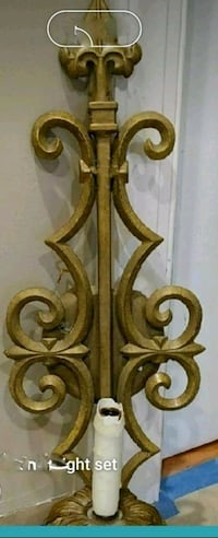 Bronze wall mounted sconce lighting OBO