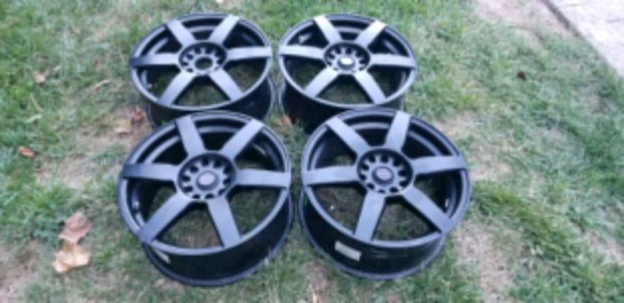 4 focal wheels rims  like new condition 17x7.5  5x112  5x120  9583ed17-6950-4c4a-856c-ca42efa08e3b