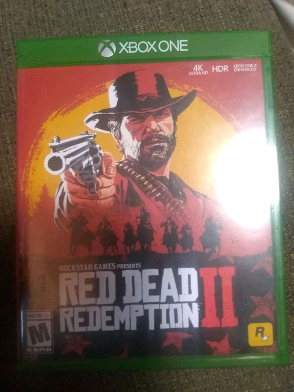 Used Red dead redemption 2 Xbox one new negotiable for sale