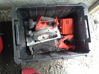 Skilllsaw, sawzal, and 2type charger with one battery $180.00 or $60.00each null
