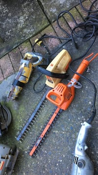 two hedge trimmers Burnaby, V5A