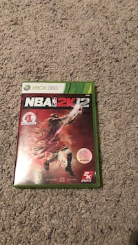Nba 2k12 xbox 360 game case