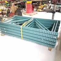 """Pallet rack uprights 8'tall 42"""" deep 9 avilable Airville"""