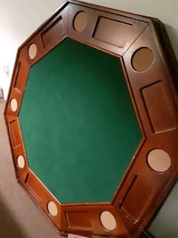 Poker/Bumper Pool Table