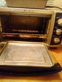 Toaster oven and hotplate