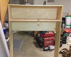 Hutch / bookshelf for college dorm room