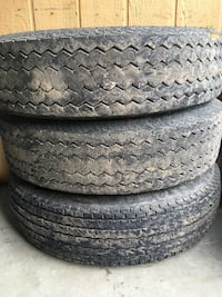 "Trailer tires 14 ""  6 ply rated 205 /75/14 Salem"