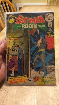 Batman with robin the teen wonder dc comic book