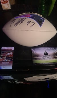 """Signed Rob """"Gronk""""owski patriots football - Rare collectible item Haverhill, 01832"""