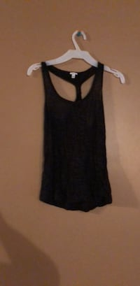 Black sheer tank top size small Winnipeg, R2N 3X1