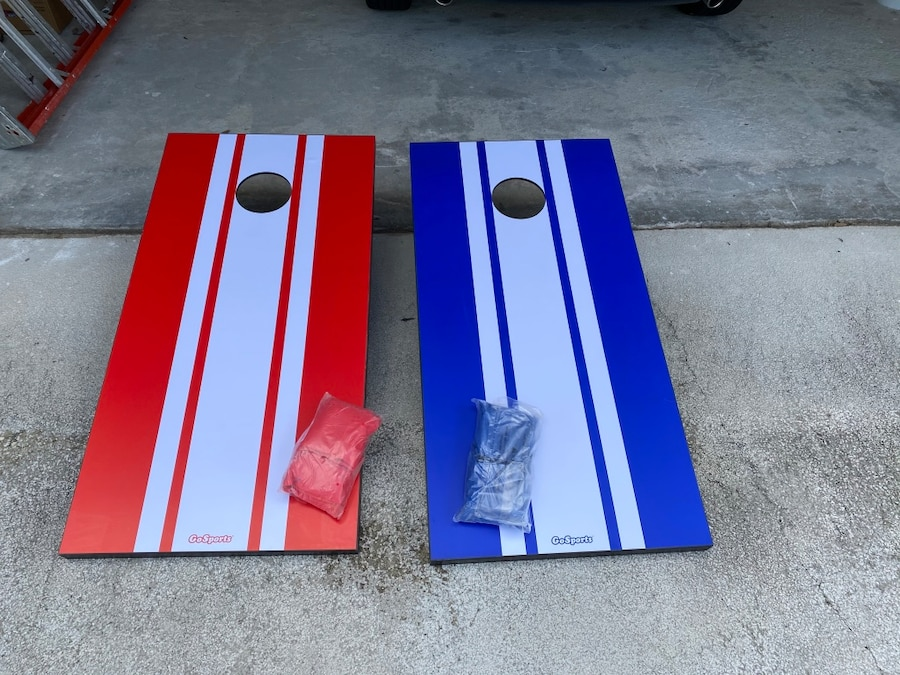 Photo Go Sports CornHole game never been used