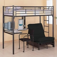 Twin Metal Bunk Bed  Laval, H7K 3N6