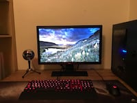 Full pc gaming setup  Langley, V1M