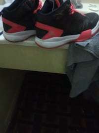 pair of black-and-red Air Jordan shoes San Angelo, 76903