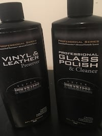 Leather and glass polish..