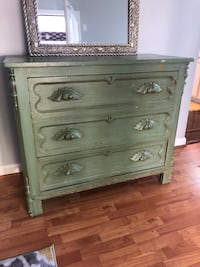 Vintage distressed dresser. You can use as a sideboard.  Woodbridge, 22193