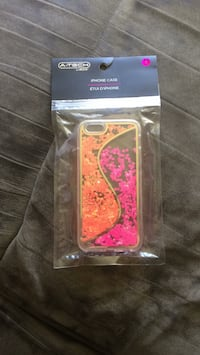 Orange and pink Iphone 6 case Hamilton, L8V 1L9