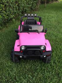 Power wheel Jeep with remote