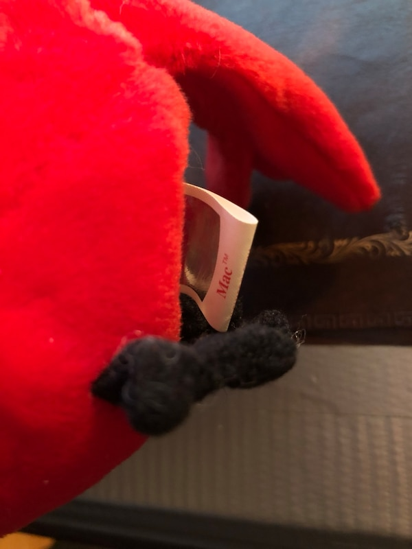 Used Mac ty beanie baby cardinal ERRORS for sale in Seaford - letgo 7c6be061a6a8