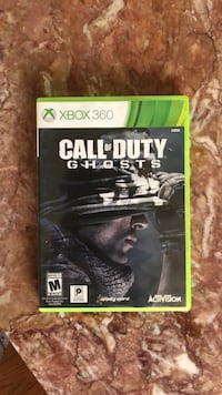 Call of Duty Ghosts Xbox 360 game case Jacksonville, 28546
