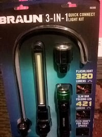 Braun 3 in 1 quick connect light kit