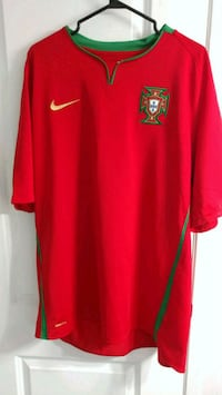 2008 Portugal Euro Home Jersey