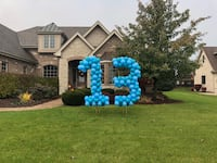 Birthday yard numbers Orland Park