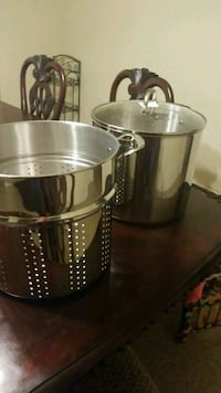 two stainless steel stock pot Los Angeles, 90033