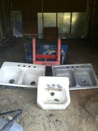 Cast iron and stainless steel sinks Columbus, 31829