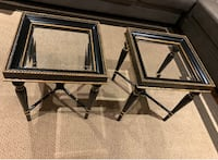 End tables in very good conditions  Silver Spring, 20905