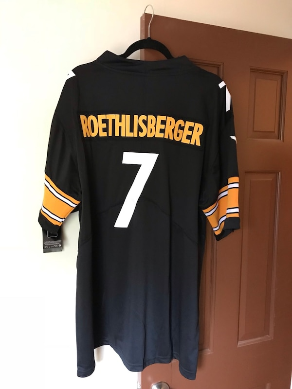 Used New NFL XL Steelers Roethlisberger Jersey for sale in South ... 41d5f8dde