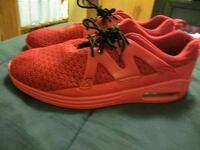pair of red fasion running shoes Canton, 44708
