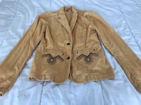 H&M pale yellow velvet jeans jacket, European collection (Paris, France) Toronto, M5S 3M4